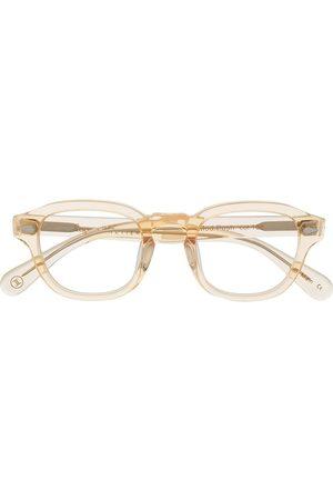Lesca Brille mit transparentem Gestell