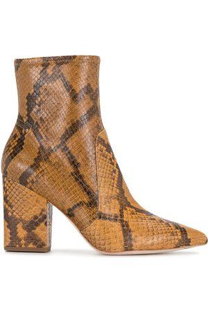 Loeffler Randall Damen Stiefeletten - Stiefel mit Schlangen-Effekt, 90mm