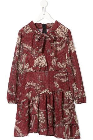 MARCHESA NOTTE MINI Kleid mit Garten-Print