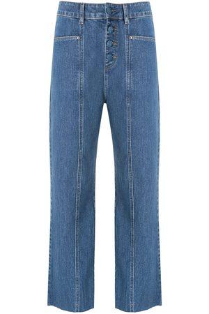 AMAPÔ Damen Straight - Klassische Jeans