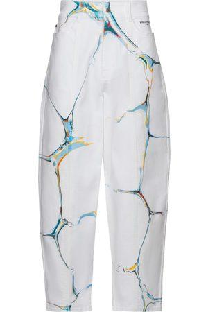 Stella McCartney Bedruckte High-Rise Jeans