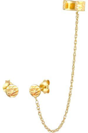 Elli Damen Ohrringe - Ohrringe Ear Chain, Earcuff