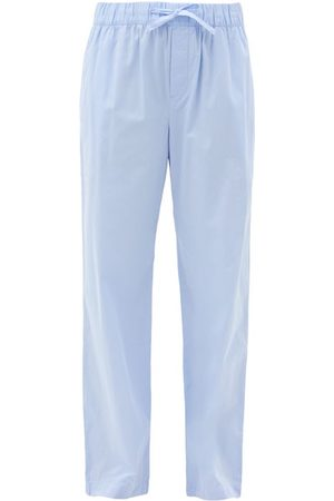 Tekla Drawstring Organic-cotton Pyjama Trousers