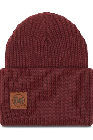 Buff Knitted Hat 117845.632.10.00 Rutger Maroon