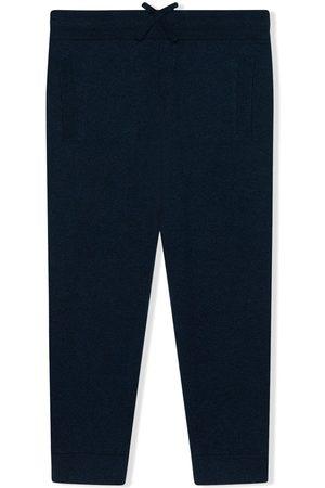 Dolce & Gabbana Jungen Hosen & Jeans - Kaschmirhose mit Logo-Stickerei