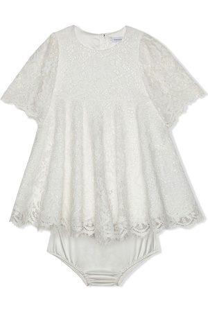 Dolce & Gabbana Kleid mit kurzen Ärmeln