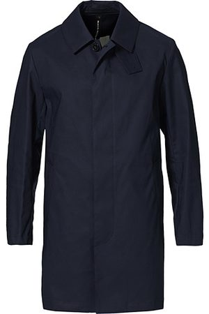 MACKINTOSH Cambridge Car Coat Navy