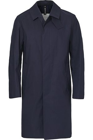 MACKINTOSH Manchester Car Coat Navy