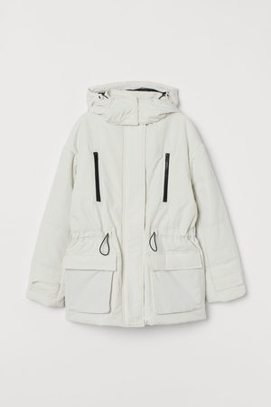 H & M Wattierte Jacke mit Kapuze