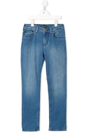 Emporio Armani Kids Jeans mit geradem Bein