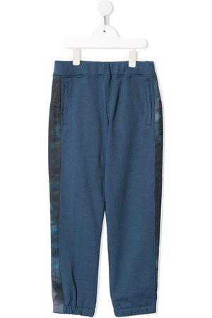 Emporio Armani Jungen Lange Hosen - Jogginghose mit Logo-Streifen