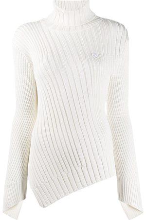Coperni Damen Rollkragenpullover - Asymmetrischer Pullover
