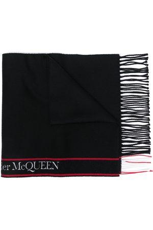 Alexander McQueen Herren Schals - Schal mit Logo-Streifen