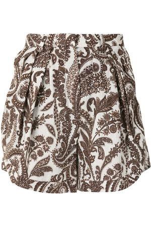 Rosie Assoulin Shorts mit Paisley-Print