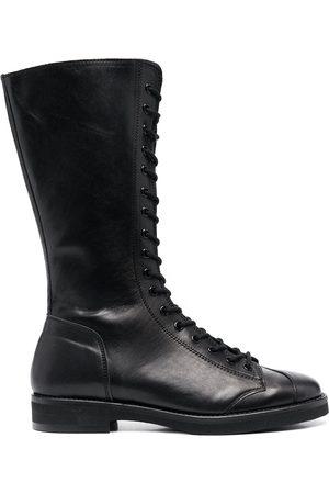 YOHJI YAMAMOTO Stiefel im Military-Look