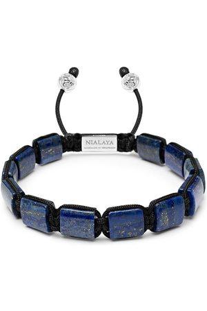 Nialaya Jewelry Armband mit Lapislazuli-Perlen