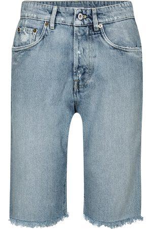 Miu Miu High-Rise Jeansshorts