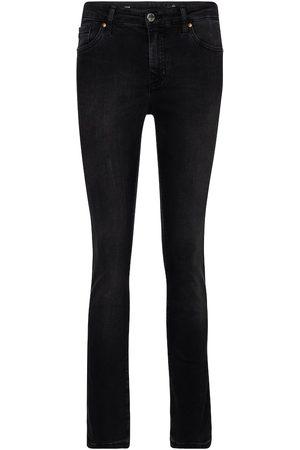 AG Jeans High-Rise Straight Jeans Mari