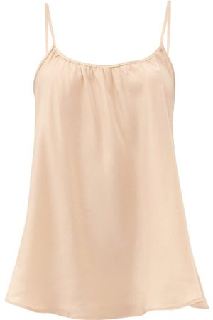 Loup Charmant Scoop-neck Silk Cami Top