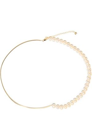 Mateo Not Your Mother's Pearl & 14kt Gold Necklace