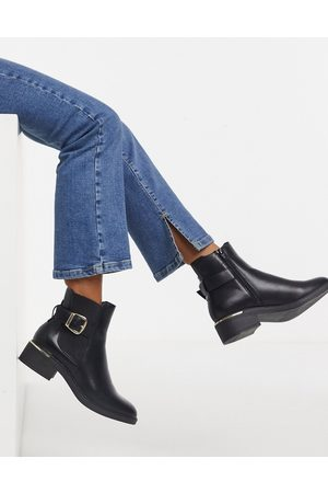 Schuh Caitlin - Ankle-Boots in mit Schnalle