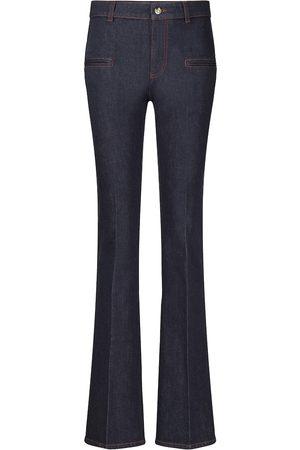 Altuzarra Mid-Rise Straight Jeans Serge