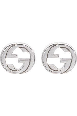 Gucci Ohrringe Interlocking G aus Sterlingsilber
