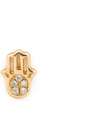 LOQUET 18kt 'Have Faith' Gelbgoldanhänger mit Diamanten