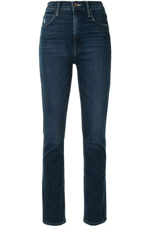 Mother Taillenhohe Skinny-Jeans