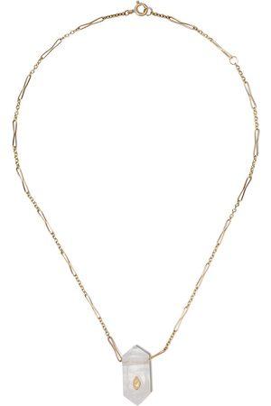 Pascale Monvoisin 9kt Gelbgoldhalskette mit Diamanten