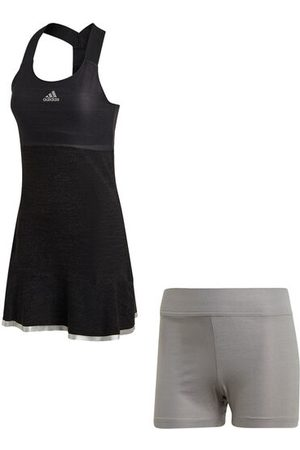 """adidas Tenniskleid """"Glam on Tennis"""", atmungsaktiv, Bewegungsfreiheit, Glitzereffekt, für Damen, , XL"""