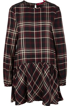 s.Oliver Longbluse mit Karo-Muster