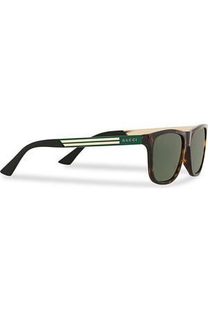 Gucci GG0687S Sunglasses Havana/Green