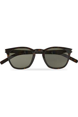 Saint Laurent Herren Sonnenbrillen - SL 28 SLIM Sunglasses Havana/Grey
