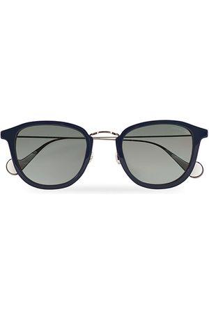 Moncler Lunettes Herren Sonnenbrillen - ML0126 Sunglasses Blue/Red