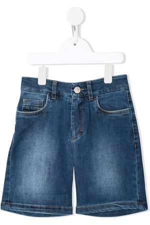 Alviero Martini Jungen Cropped - Jeans-Shorts