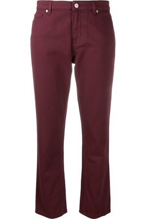 Paul Smith Gerade Cropped-Jeans