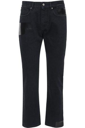 McQ Enge Jeans Aus Baumwolldenim ##foam##