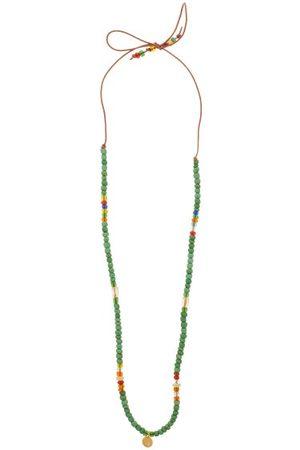 Musa by Bobbie Diamond, Citrine, Opal & 14kt Charm Necklace