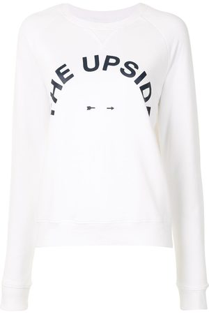 The Upside Sweatshirt mit Logo-Print
