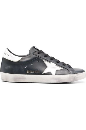 Golden Goose Sneakers mit Logo-Patch