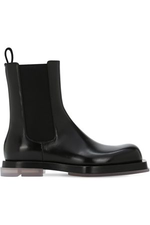 Bottega Veneta Chelsea Leather Boots
