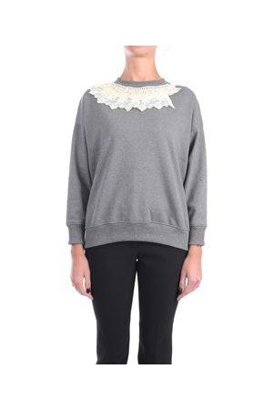 ROSE' A POIS Sweatshirt COSIMO Halsband Damen