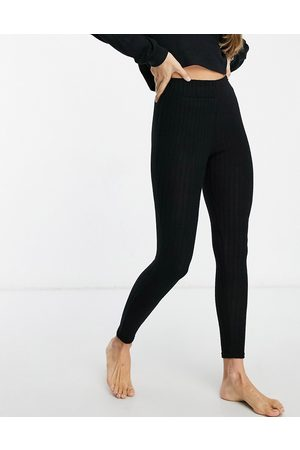 Loungeable – Mix & Match – Weiche, gerippte Leggings in