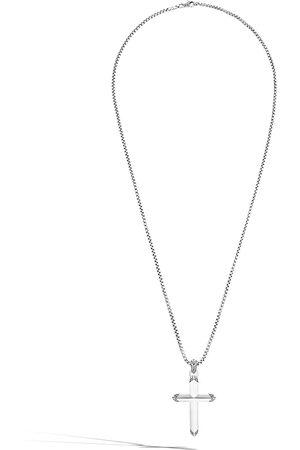 John Hardy Herren Halsketten - Halskette mit Kreuzanhänger