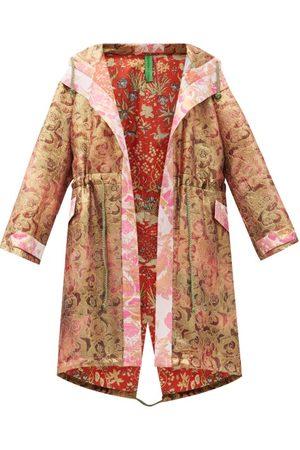 Rianna + Nina Vintage Silk-brocade Hooded Coat