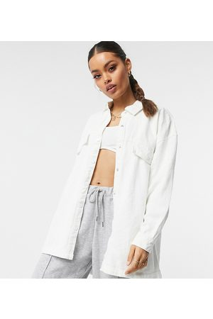 Missguided – Oversize-Jeanshemd in
