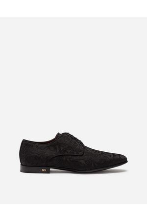 Dolce & Gabbana Derby in jacquard mit ornamenten male 42