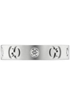 Gucci Icon Ring mit Diamanten
