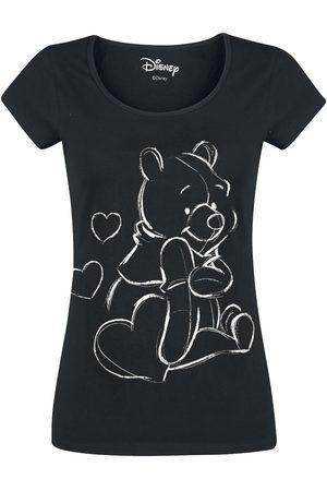 WINNIE THE POEH Damen T-Shirts, Polos & Longsleeves - Sketchy Pooh T-Shirt